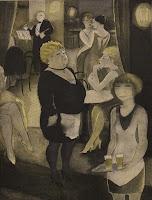 Jeanne Mammen - Café Nollendorf - Berlin 1931