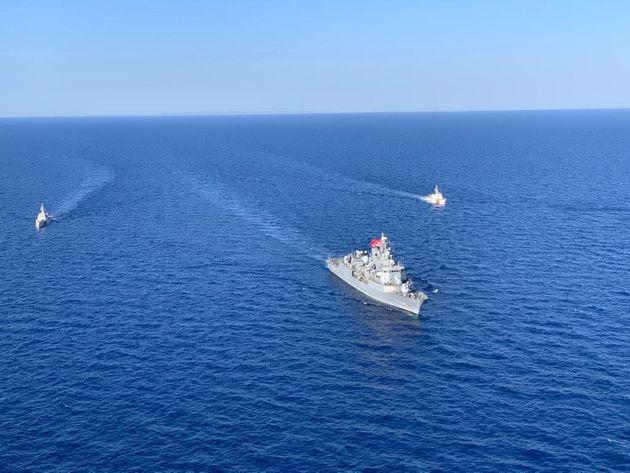 Άγκυρα: Το «Kemal Reis» συνοδεύει το Barbaros στην Κύπρο