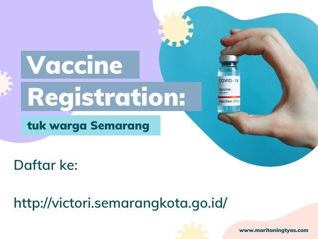 pendaftaran vaksin covid di semarang