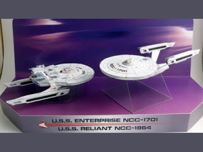 Star Trek Papercraft: Mini Wrath of Khan Ships