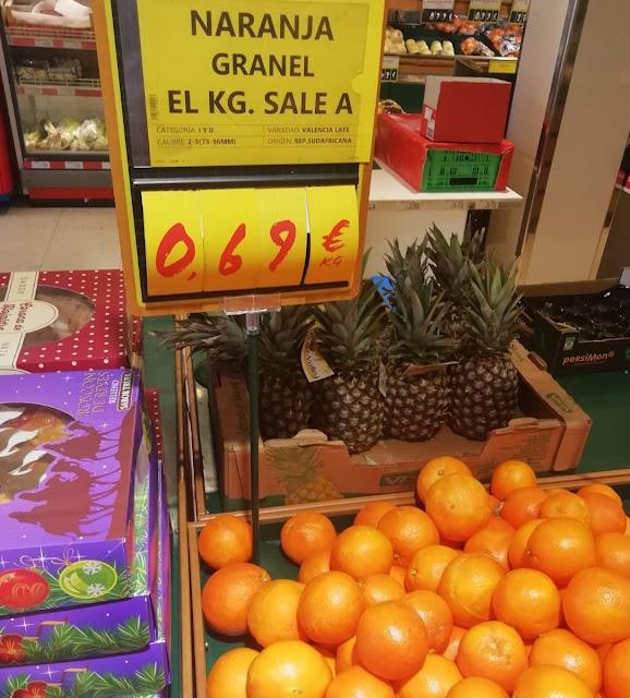 Origen sudafricano naranjas
