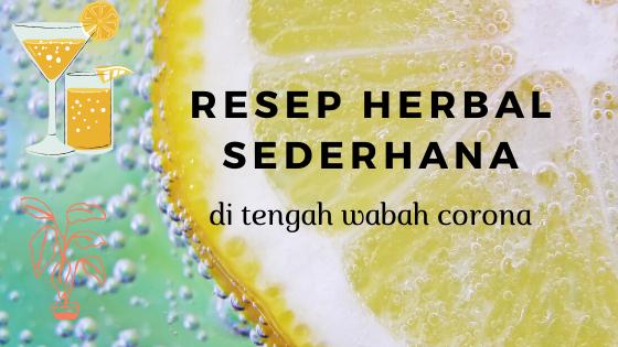 resep herbal wabah corona