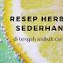 Resep Herbal Sederhana di Tengah Wabah Corona