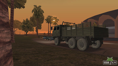 [REL] DongFeng SX Military Truck For GTA SA Android