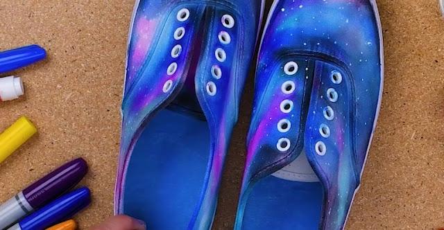 Sneaker ayakkabı yenileme