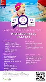 Professor (a) de Natação