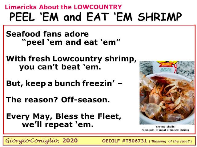 limerick; South Carolina; seafood; Giorgio Coniglio; ecology