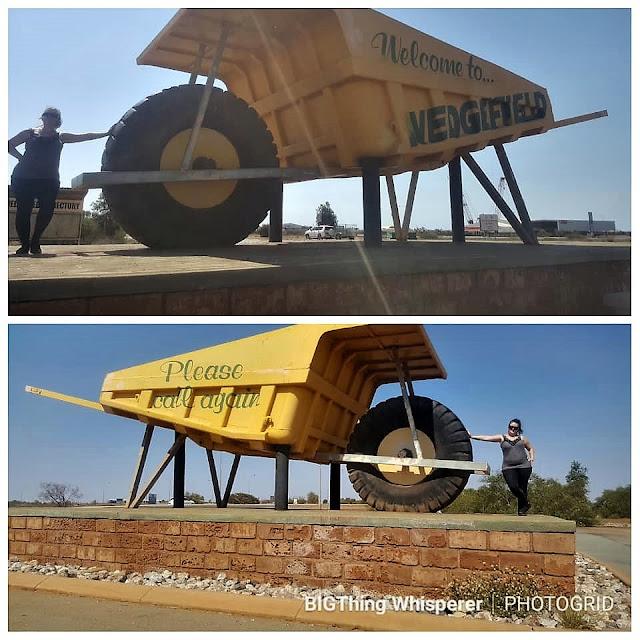 BIG Wheelbarrow in Wedgefield | Australian BIG Things