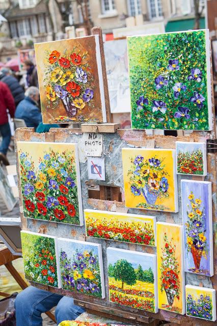 Artisti a Montmartre-Place du tertre-Parigi