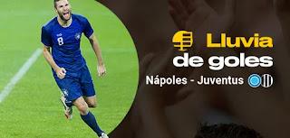 bwin promocion Napoles vs Juventus 26 enero 2020