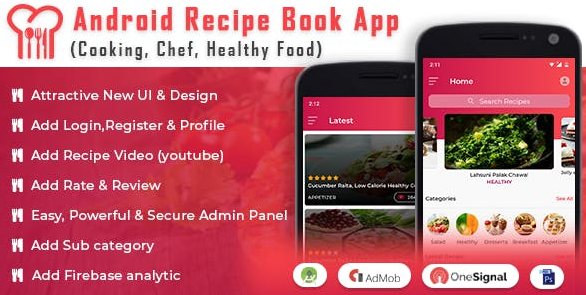 Free Download Android Recipe Book App