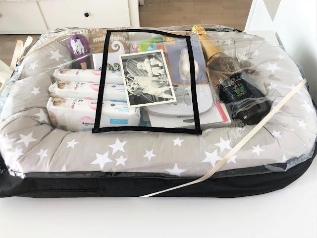 Babyshower lahjapaketti