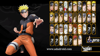 Naruto Senki Mod NSWON Cursed Battle Apk