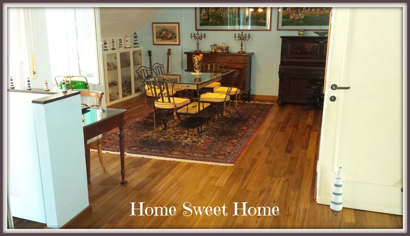 il bastimento my home sweet home. Black Bedroom Furniture Sets. Home Design Ideas