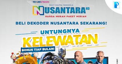 Harga Diskon Paket Nusantara HD Mei 2021