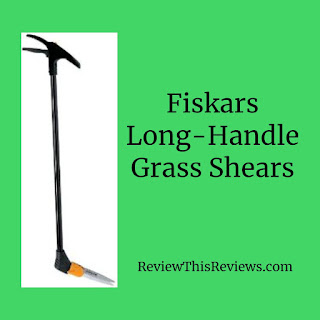 Fiskars Long-Handle Swivel Grass Shears