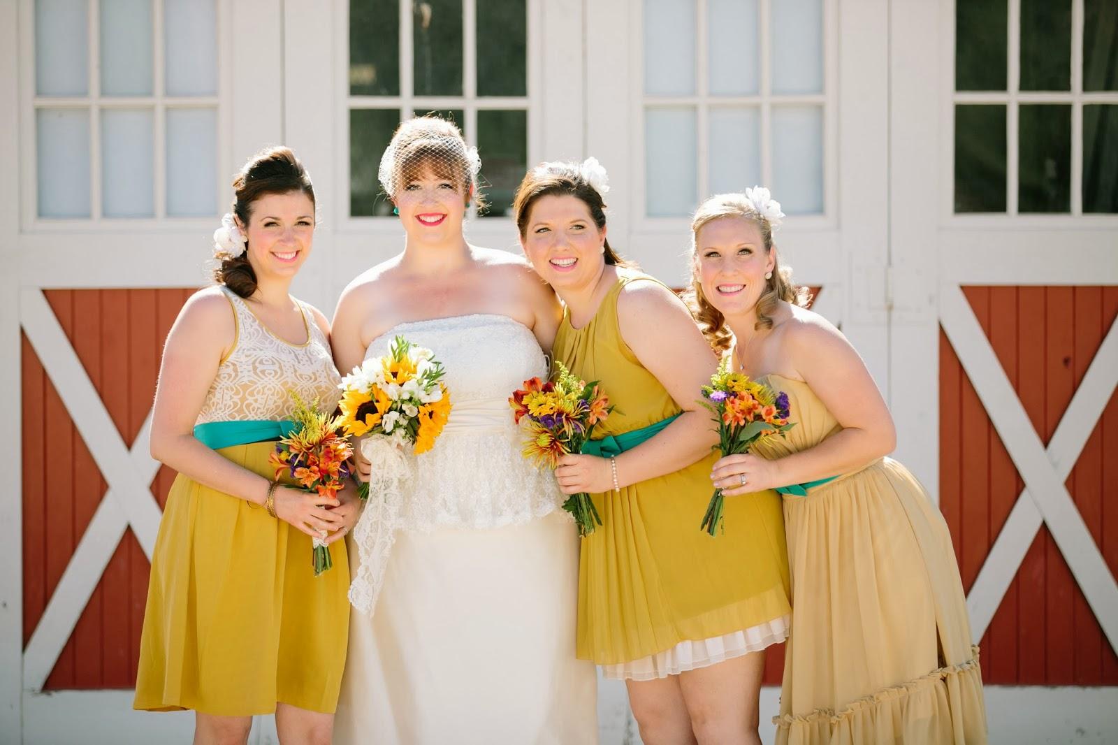 Windmill Winery Wedding Alaina And Keith Red Wedding Bridesmaid