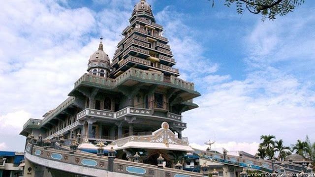 Tempat wisata kota Medan Graha Maria Annai Velangkanni