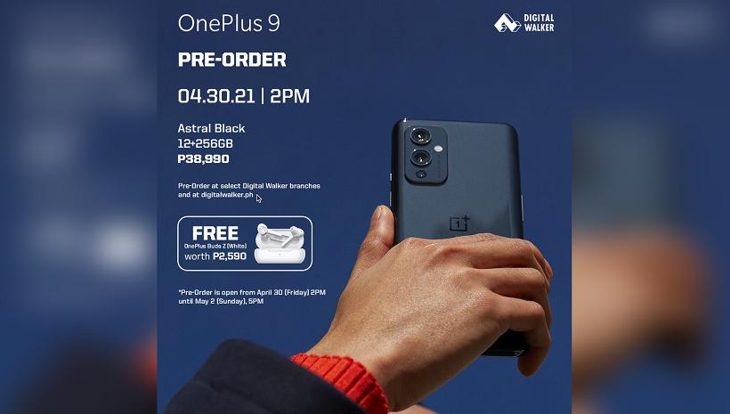 OnePlus 9 Pre-order Philippines