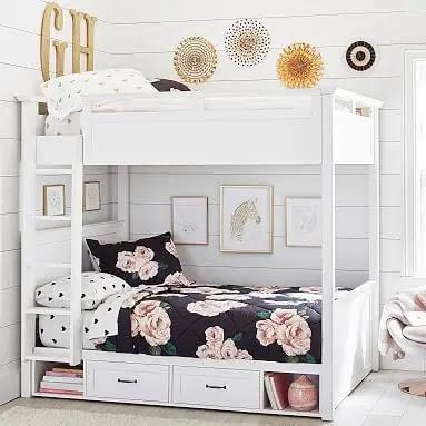 سريرين غرف اطفال مساحة صغيرة