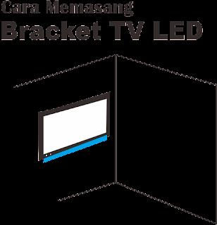 Cara Memasang Bracket Tv LED Paling Mudah