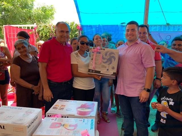 Aroazes: Manoel Portela Neto participa de evento outubro Rosa