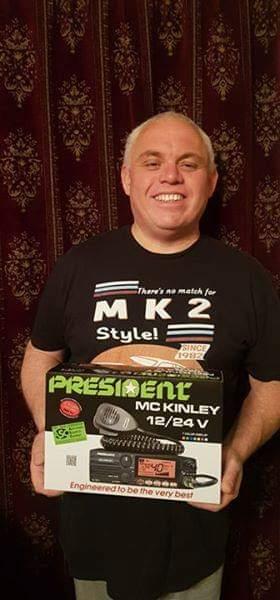 Delboy's Radio Blog: Dave Gets The First President McKinley EU
