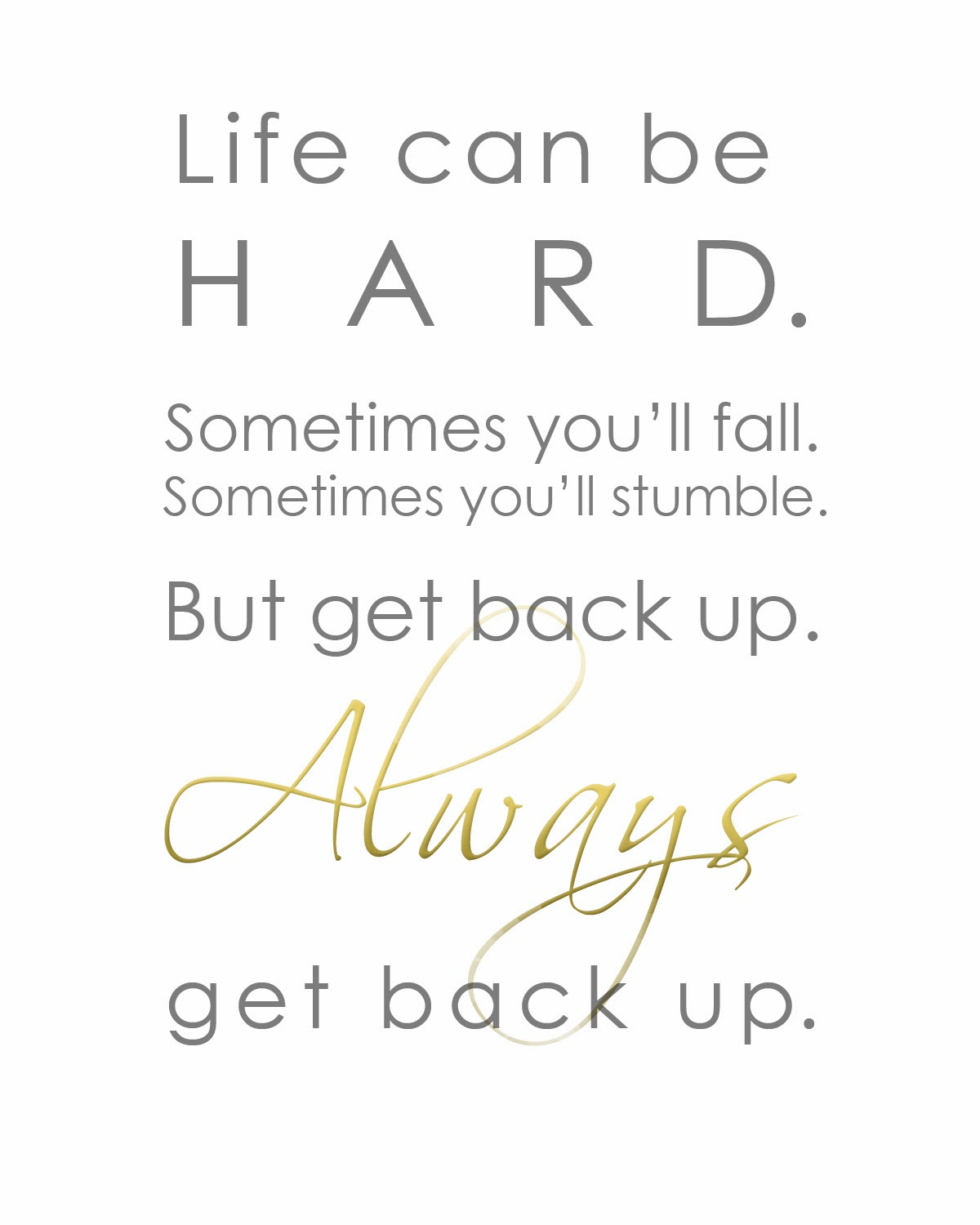 Get Back Up Quotes: The Sprinkles On My Ice Cream: Get Back Up