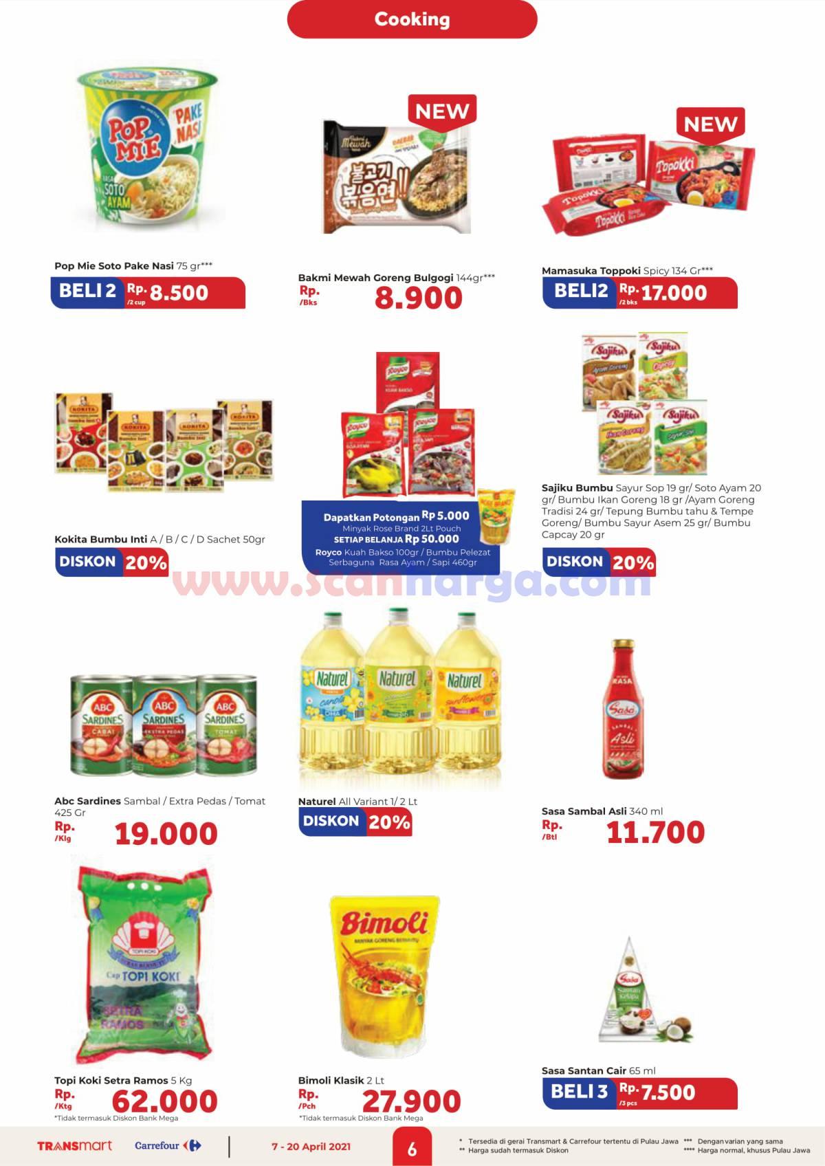 Katalog Promo Carrefour Transmart 7 - 20 April 2021 6