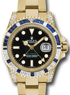 Pajak Rolex Oyster-Perpetual-GMT-Master-II-Watches-18K yellow-gold ( Box/Cert ) RM75,000