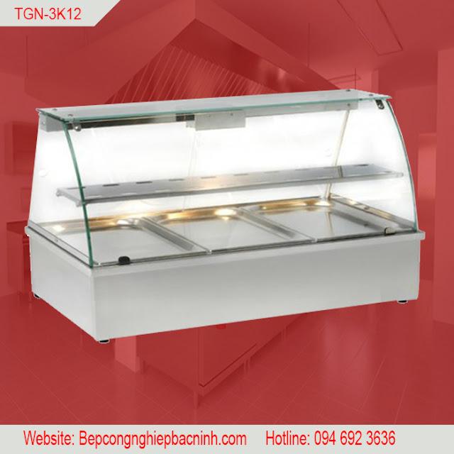 Quầy giữ nóng thức ăn 3 khay TGN-3K12