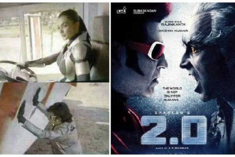 Tamilrockers 2018 Leaks Rajinikanth Akshay Kumars 20 Robo 20