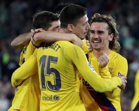 مباراة برشلونة و خيتافي فيديوهات وأهداف المباريات