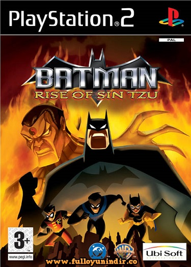 Batman Rise of Sin Tzu (PAL) Playstation 2 Tek Link