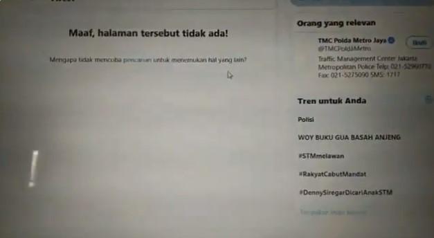 Akun TMC Polda Metro Jaya Hapus Tweet yang Tuduh Ambulans DKI Bawa Batu dan Bensin Molotov