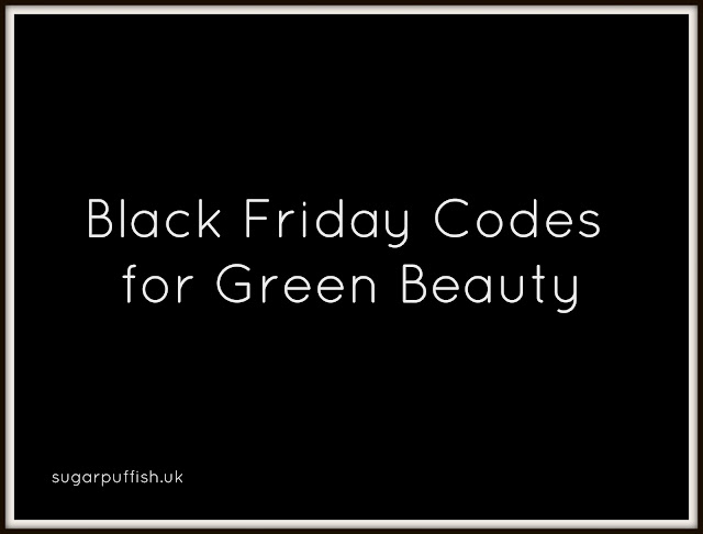 Black Friday Codes for Green Beauty Discounts 2016