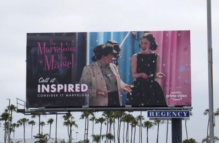 Mrs Maisel Call it Inspired 2019 Emmy FYC billboard