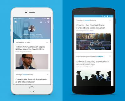 LinkedIn Pulse B2B app for Business Wap5