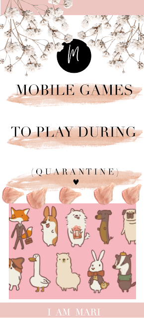 Mobile Games To Play During Lockdown | Quarantine | Self-Isolation