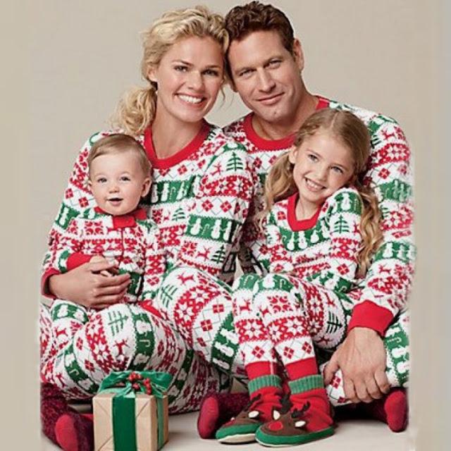 Christmas Family Long Sleeve Pajamas