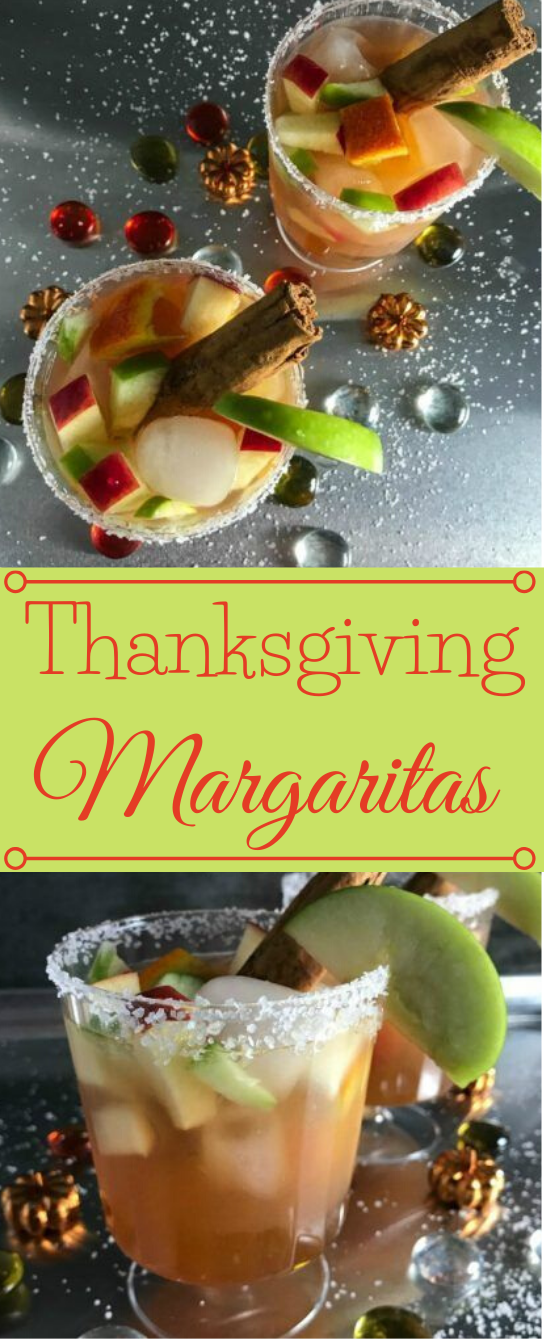 THANKSGIVING MARGARITAS #drink #margaritas #easy #caoktail #sangria