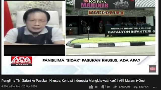 Eks Kepala BIN Ungkap Duduk Perkara Ketegangan TNI vs HRS