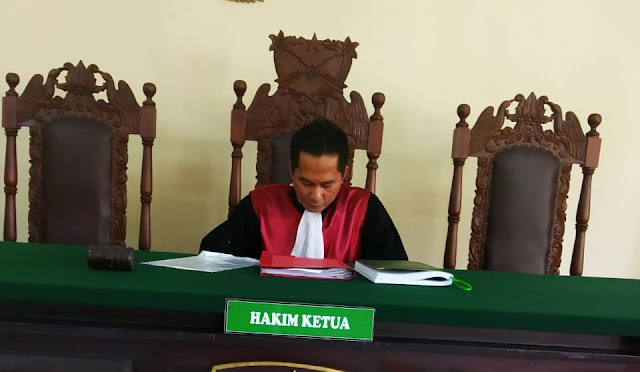 Sidang pra peradilan di PN Kediri