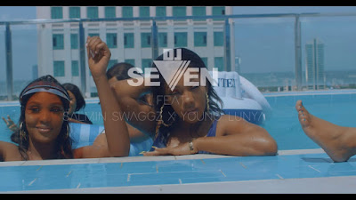 VIDEO   Dj Seven Ft. Young Lunya & Salmin Swaggz – Tunawaka