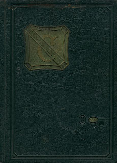 1928 Crimson YEarbook