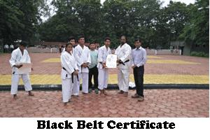 student get black belt