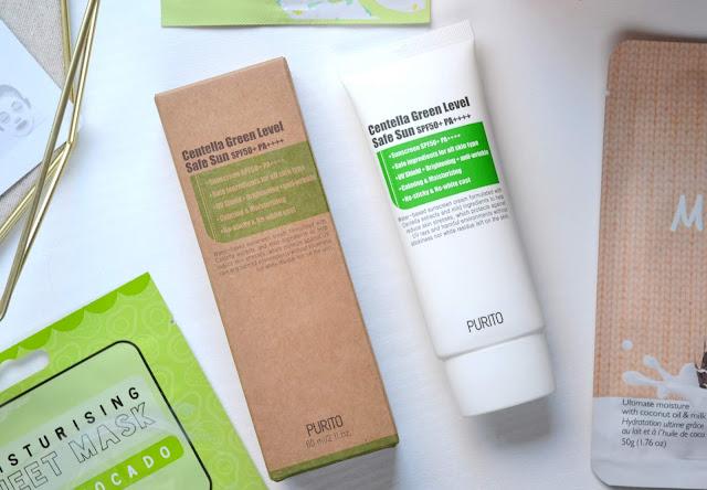 Purito Centella Green Level Safe Sun Sunscreen
