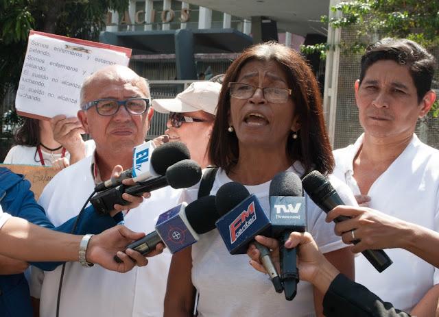 VENEZUELA: Gremio de enfermería se sumará a la movilización del #16Nov.