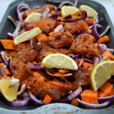 Cajun Chicken Tray Bake