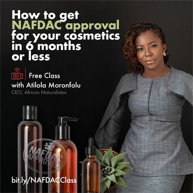NAFDAC approval for your product